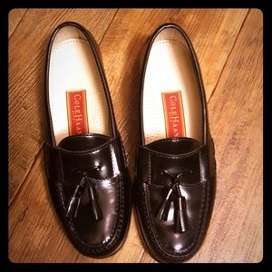 "Cole Haan ""city"" pinch tassel loafers"